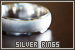 Accessories - Rings: Silver